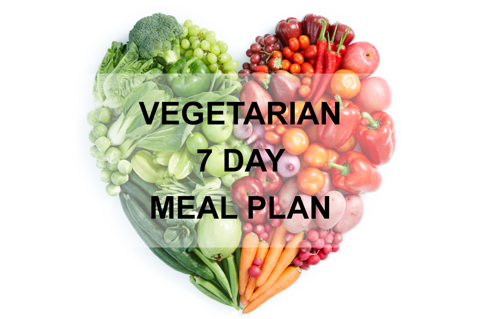 Vegetarian 7 Day Meal Plan