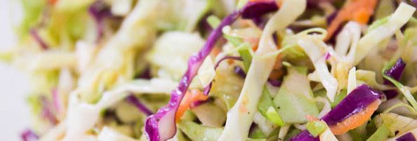 Healthy Coleslaw Recipe – No Mayo & Raw