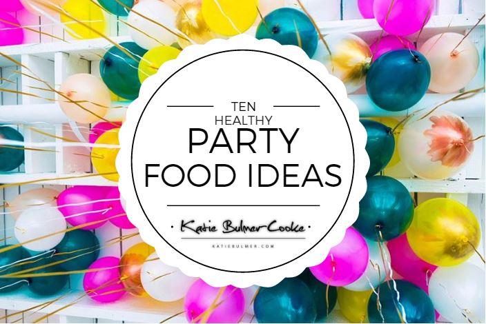 Healthy Party Food Snack Ideas