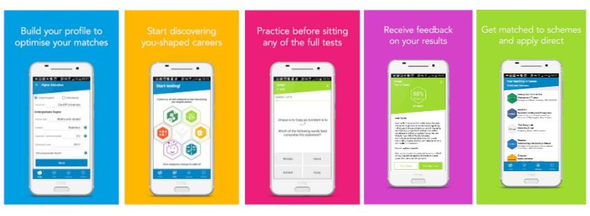 The DNA APP for Students and Graduate Job(s)