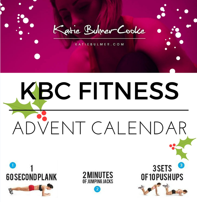 Merry Fitmas! The Countdown to Fitness…