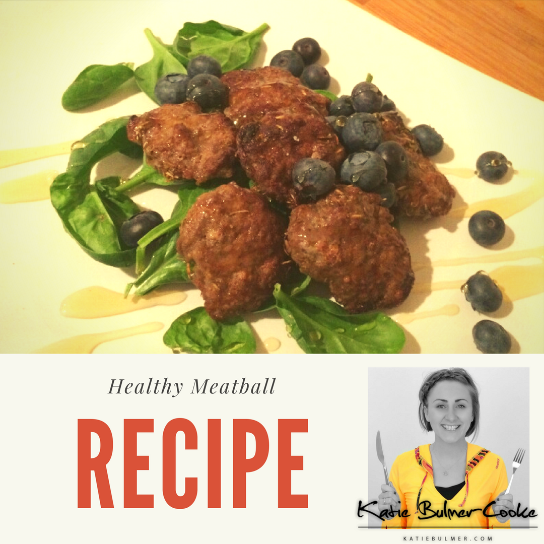 Healthy Meatball Recipe