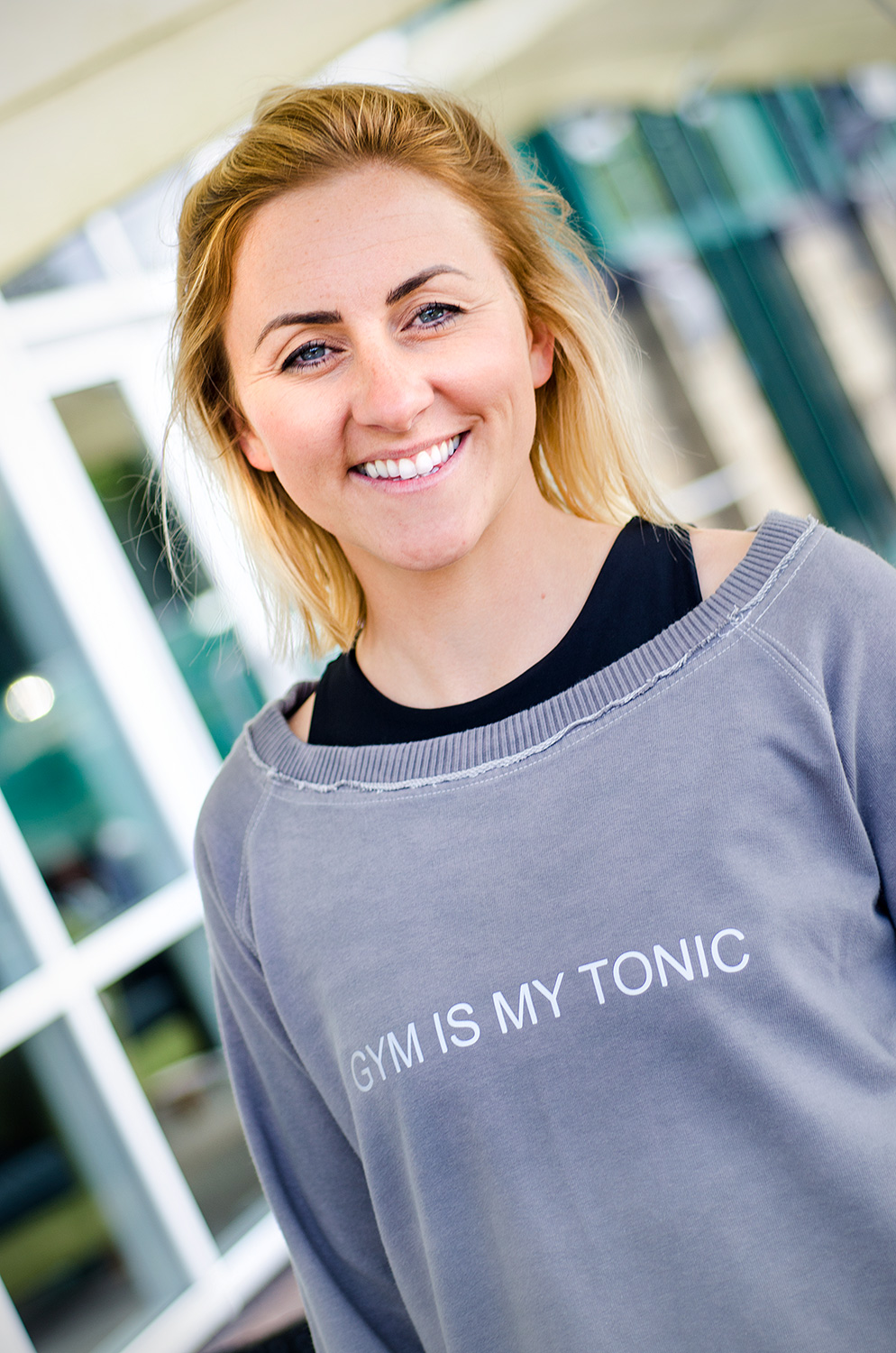 'GYM IS MY TONIC' Sweatshirt: Extra Large