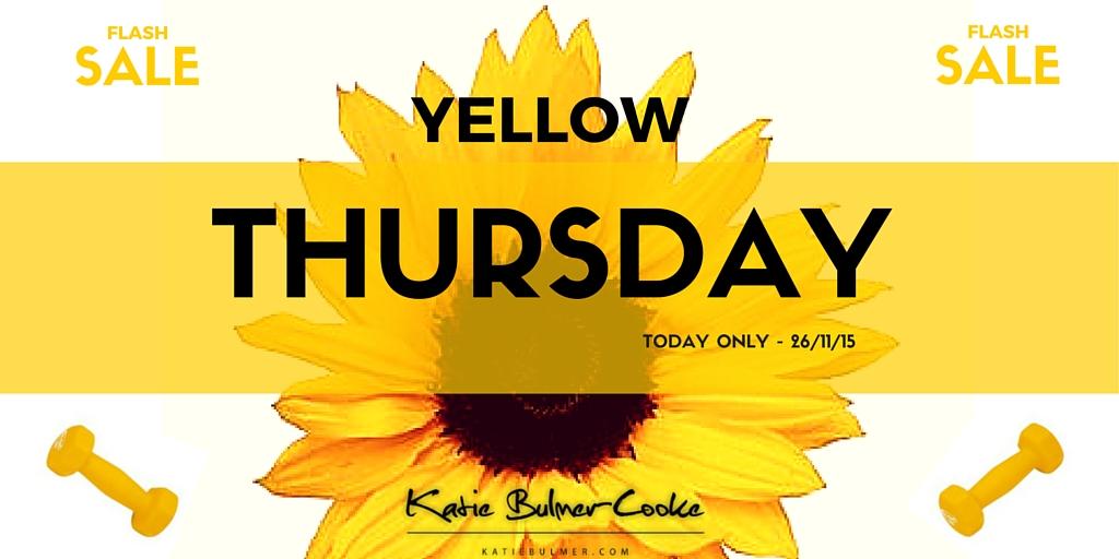 Yellow Thursday!