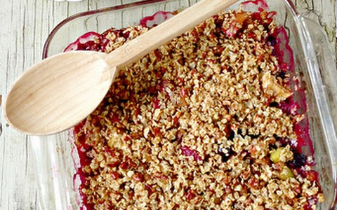 Healthy Dessert Recipe – Easy Rhubarb Crumble