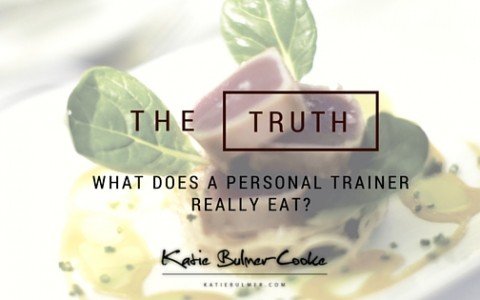 What does a Personal Trainer Eat? I get asked all the time!