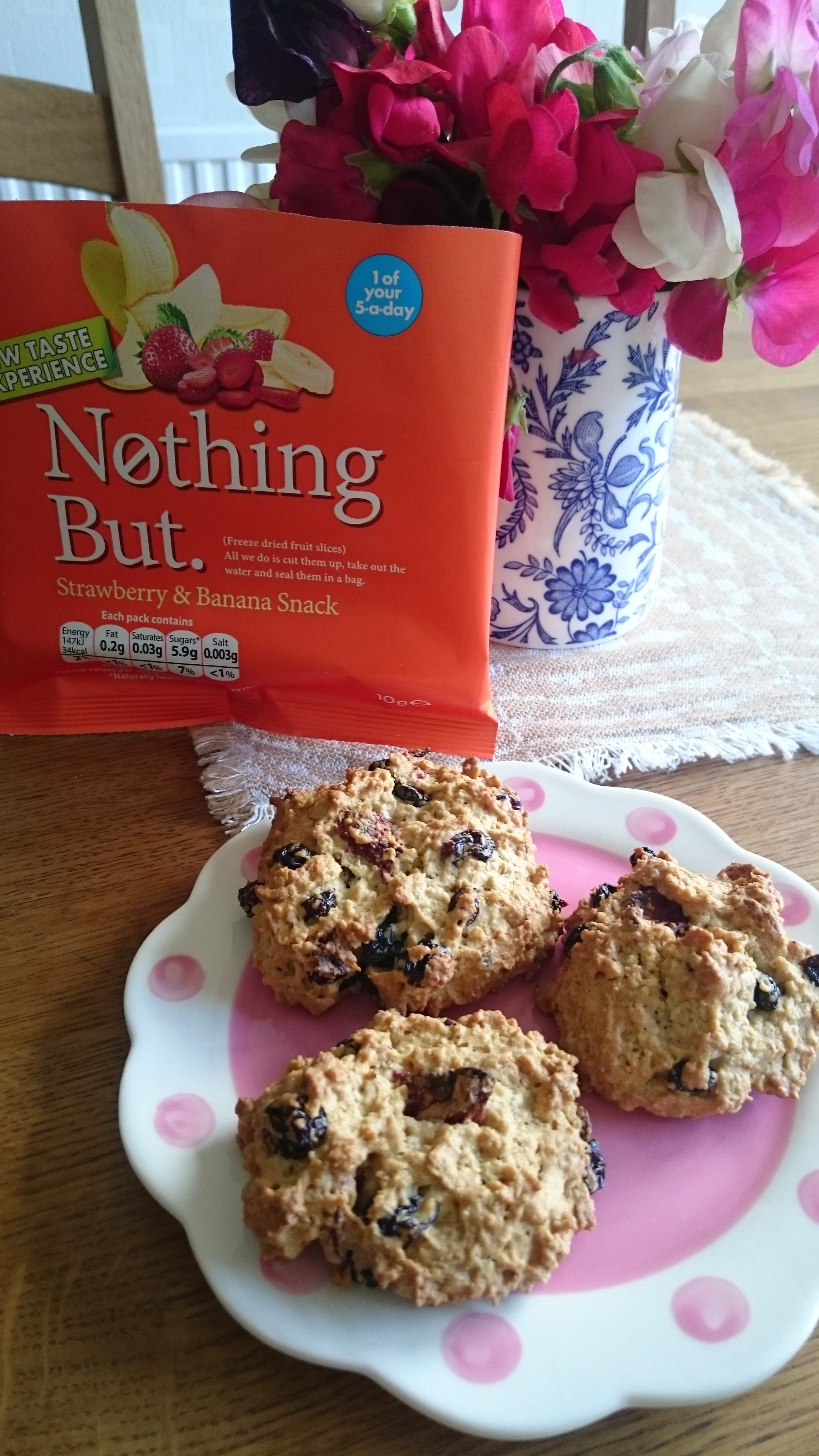 Healthy Oaty Biscuit Recipe