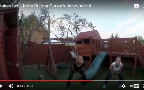 A Duo Home Workout – It Takes Two!