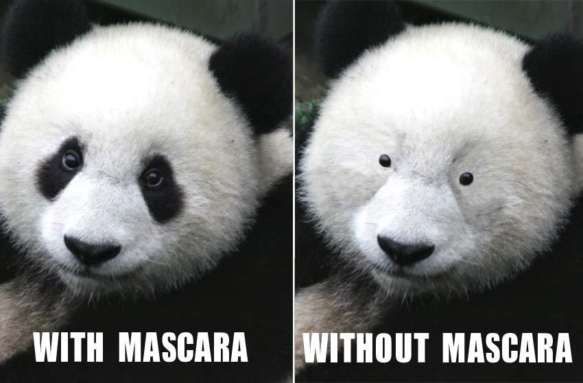 Goodbye Post Workout Panda Eyes!